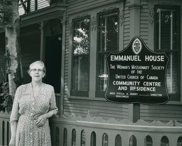 Miss Stella Burry, Emmanuel House, St. John's, Nfld.